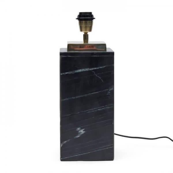 """Rivìèra Maison Tischlampenfuß """"Sierra Marble Square Lamp Base"""""""