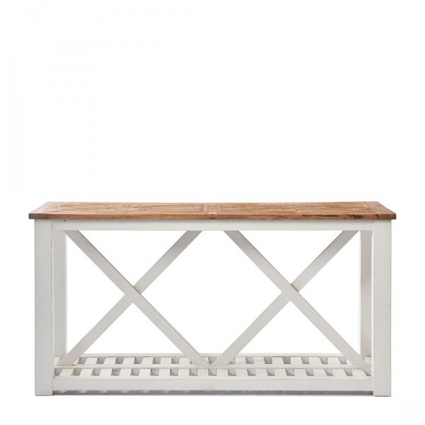 "Rivièra Maison Sideboard/Konsolentisch ""Chateau Chassigny Side Table with Shelf"" 160 x 46 cm"