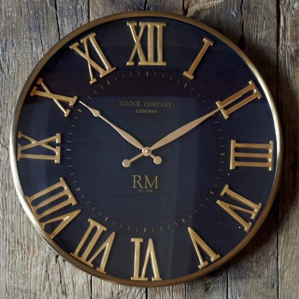 "Rivièra Maison Wanduhr ""London Clock Company Wall Clock"""