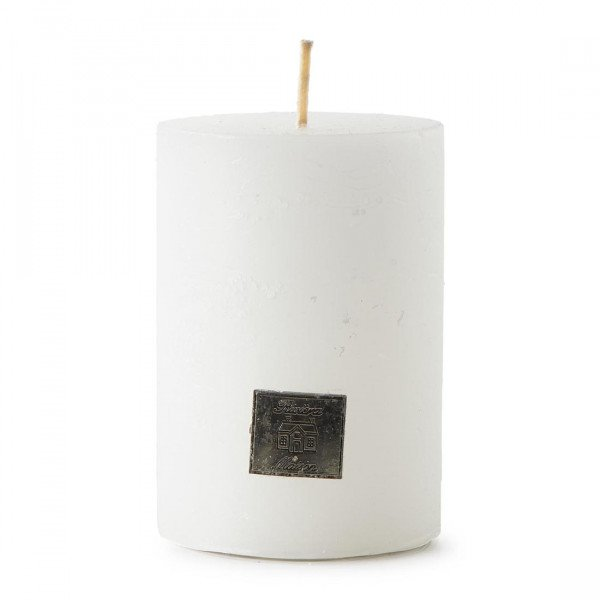 """Rivièra Maison Kerze """"Rustic Candle frosted white"""" 7 x 10 cm"""