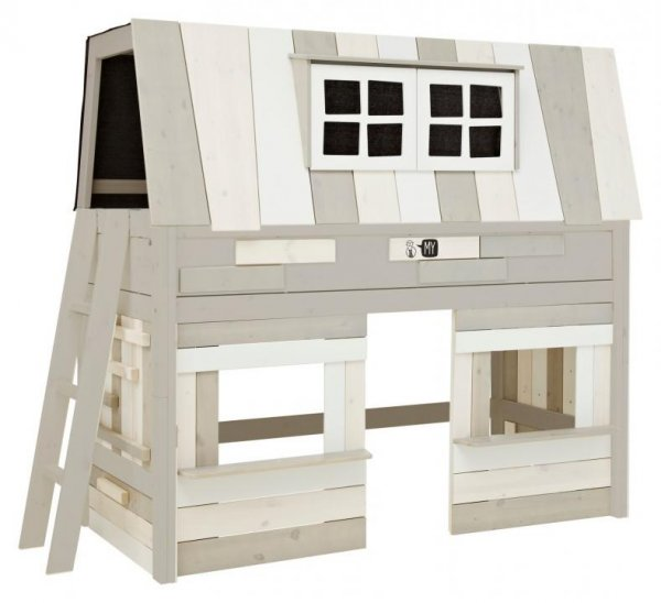 "LIFETIME Kidsrooms Kinderbett ""My Hangout"" - Variante ""halbhohes Bett"""