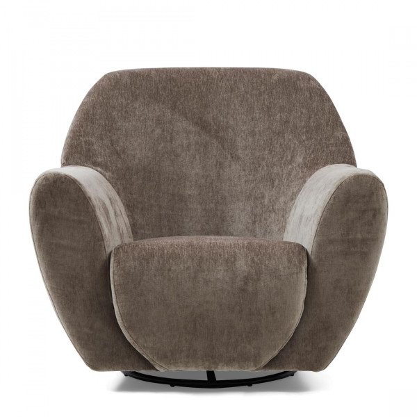 "Rivièra Maison Loungesessel ""The Jill Swivel Chair Velvet Olive"""
