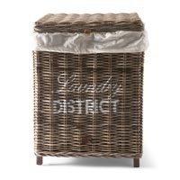 "Rivièra Maison Wäschekorb ""Rustic Rattan Laundry District Basket"""