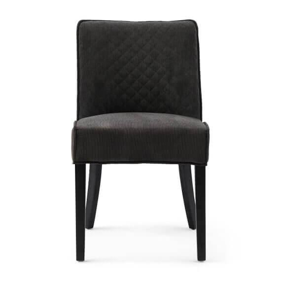 "Rivièra Maison Esszimmerstuhl ""Bridge Lane Dining Chair Diamond Stitch Mocha"""