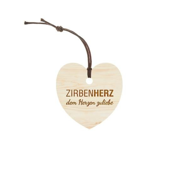 """Zirbenfamilie Original """"ZirbenHerz-Anhänger"""""""