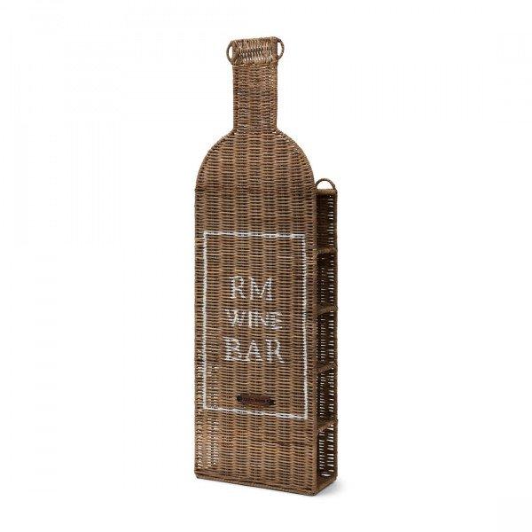 """Rivièra Maison Flaschenhalter und Weinregal """"Rustic Rattan Wine Bar Bottle Holder"""""""