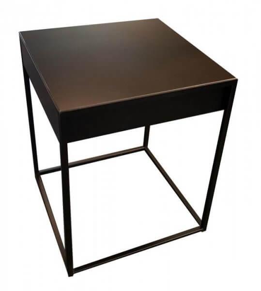 """Whitebeds Nachttisch/Beistelltisch """"540"""" mit Schublade"""