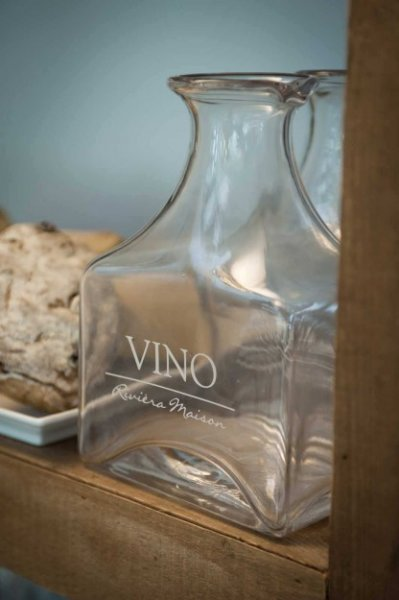 "Rivièra Maison Glaskaraffe ""Vino Acqua Decanter"""