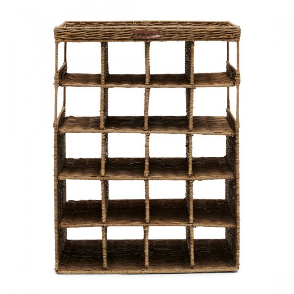 "Rivièra Maison Weinregal ""Rustic Rattan Wine and Love Wine Rack"""