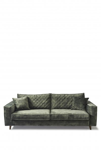 "Rivièra Maison Sofa ""Kendall 3,5 Seater Velvet Ivy"""