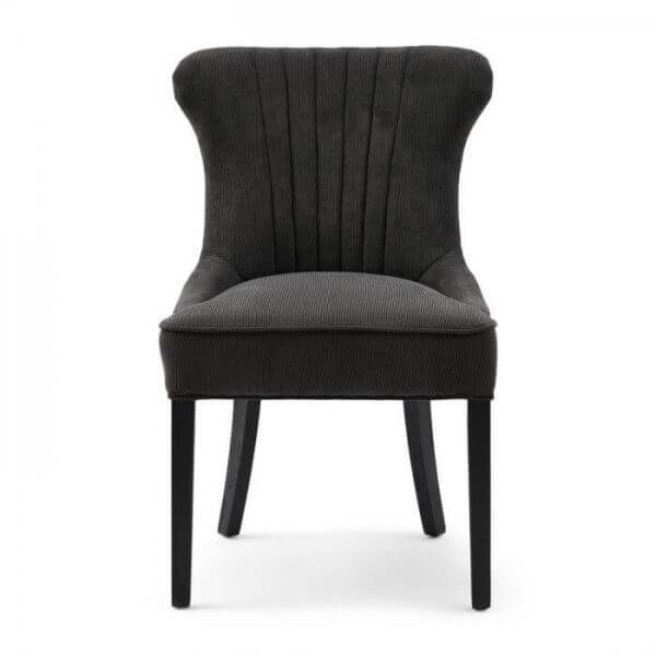 "Rivièra Maison Esszimmerstuhl ""Davis Dining Chair Italian Rib Mocha"""