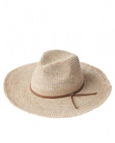 """Lexington Strohhut """"Texas Hat beige"""""""